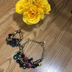 Necklace & Bracelet.
